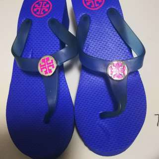 authentic preloved toryburch slippers