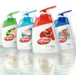 🚚 6x Lifebuoy hand wash 215ml