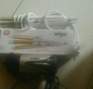 Catokan wigo+hairdryer take all