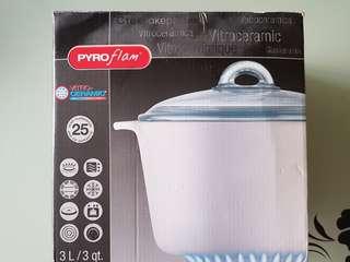 Pyroflam pot 3L - Brand New