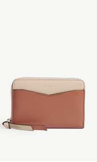 (Summer sale) Sandro YZA leather Porte monnaie wallet