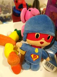 New Original Pocoyo Elly Pato Set Plush Toys