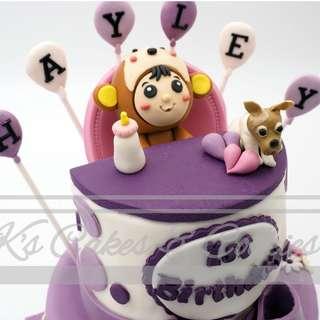 BB 3D Cake