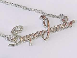Superjunior SJ 頸鏈