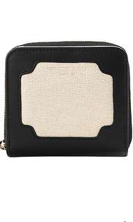 Aspinal of London Marylebone contrast leather mini purse