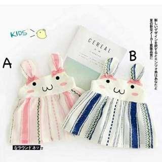 兔兔吊帶洋裝