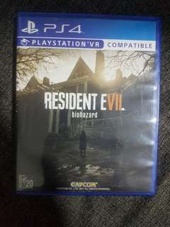 PS4 Resident Evil 7 with DLC