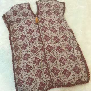 Ethnic dress cotton