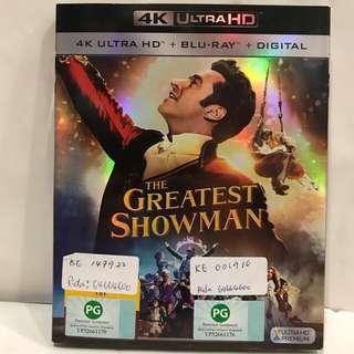 GREATEST SHOWMAN 4K ULTRA HD+BLU RAY+DIGITAL