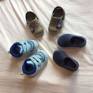 Authentic New Balance, Crocs-inspired baby shoes
