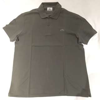 Lacoste grey polo (brand new without tags) limited edition