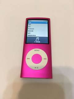 🚚 IPod nano 4 粉紅 8GB