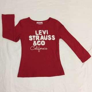 Levis shirt (long sleeve)