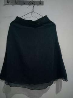 Dark blue skirt
