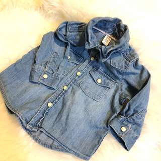 Baby Gap Denim Tops
