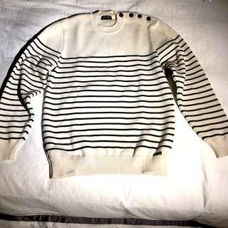 Saint James (St James) fisherman style stripe sweater