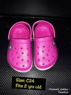 BABY CROCS SHOES