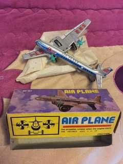 Air plane tin toys