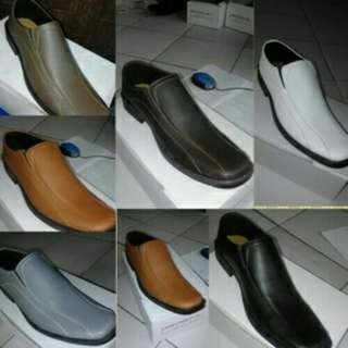 Sepatu Kerja Pantofel Kulit Sintetis Pria murah