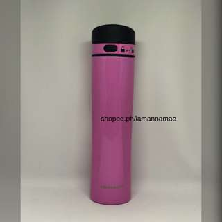 Starbucks Pink Stainless Steel Tumbler with Lock