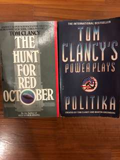 Tom Clancy novels