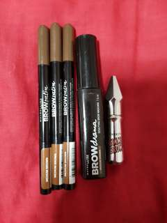 Benefit and maybelline brow bundle