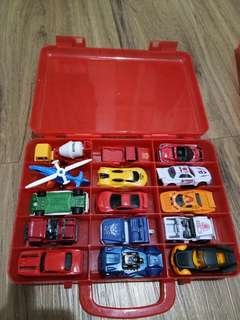 Koper hot wheels isi 15pcs