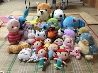 出售娃娃機夾出全新娃娃