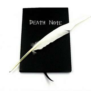 Anime Theme Death Note Cosplay Notebook New Fashion School Supplies Writing Journal Best Gift for Birthday