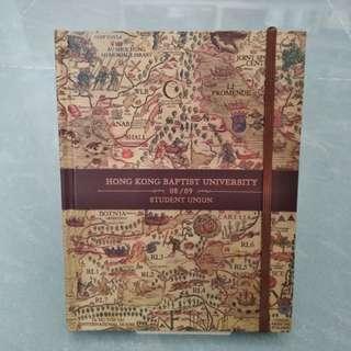 2008-2009 浸會大學學生會記事簿