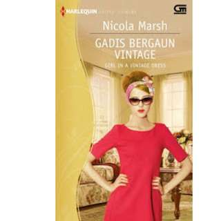 Ebook Gadis Bergaun Vintage (Girl In A Vintage Dress) - Nicola Marsh