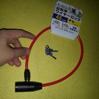 Lock for Motorcycles/Bicycles