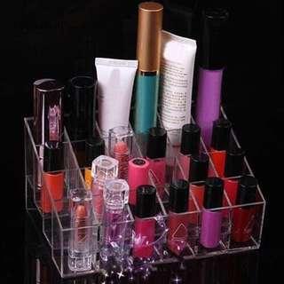 24 slot makeup organizer