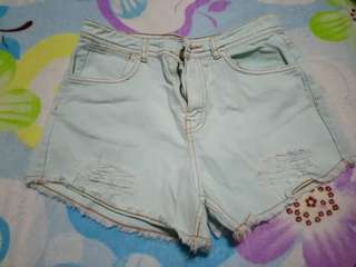 High waisted shorts - Free shipping in METRO MANILA