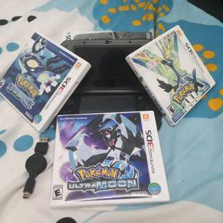 Nintendo 3ds XL full set