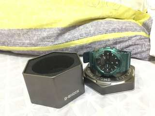 Jam tangan G shock ga-110 NM -1 green