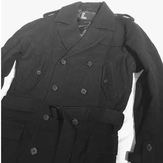 Burberry style trench coat jacket