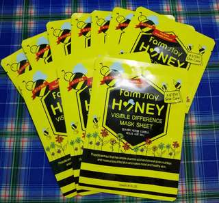 [FARMSTAY] Visible Difference Honey Mask Sheet