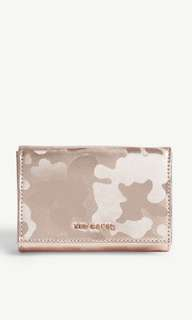 Ted Baker eugenie small camouflage metallic leather purse