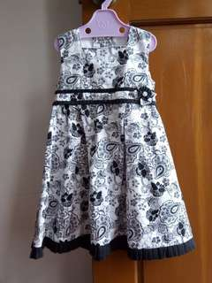 Printed Dress (Size 4)