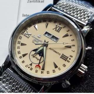Aeromatic 德國飛行腕錶 (奶茶面日月星晨 - A1406)
