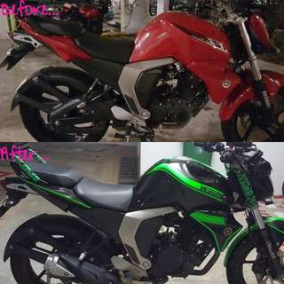 Motorcycle Makeover!