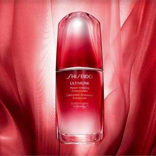 2018年升級版 SHISEIDO Ultimune Power Infusing Concentrate N 紅妍肌活精華 免疫力精華 50ml
