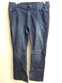 Levis 553 Mid Rise Boot Jeans