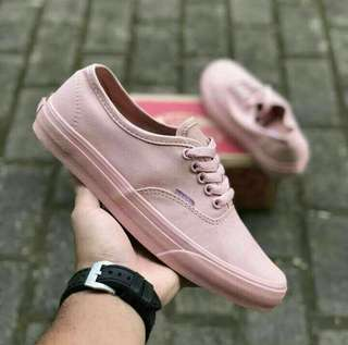 VANS AUTHENTIC BABY PINK