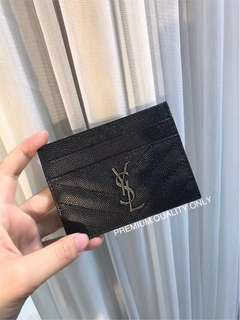 YSL Caviar Card Holder