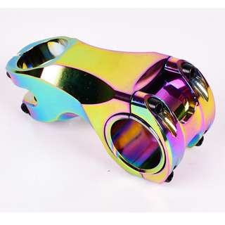 Oil Slick CNC Negative 17 Degree  MTB/scooter Aluminum Stem 60mm Stems 28.6*31.8mm/35mm