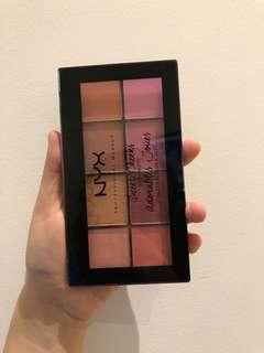 NYX blush palette