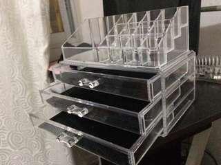 3 drawer makeup organizer