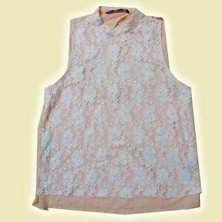 [Zara] Sleeveless Top